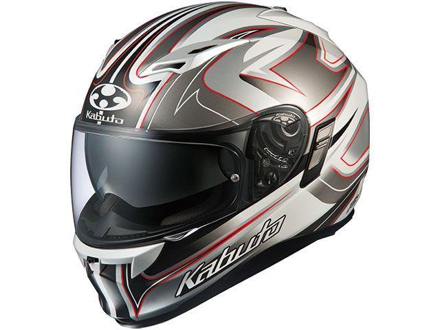 送料無料 OGK KABUTO オージーケーカブト フルフェイスヘルメット KAMUI-II SIPRO(カムイ・2 シプロ) ホワイト/シルバー M