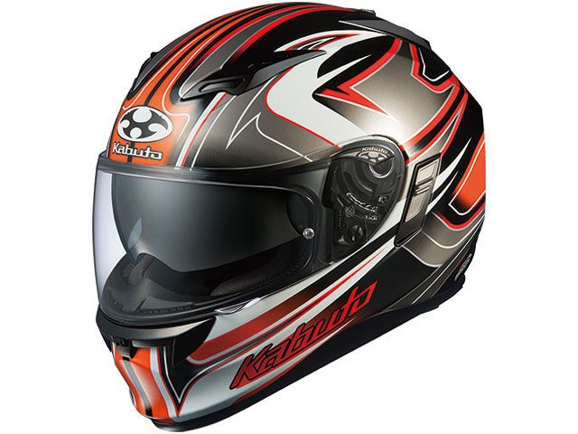 送料無料 OGK KABUTO オージーケーカブト フルフェイスヘルメット KAMUI-II SIPRO(カムイ・2 シプロ) ブラック/オレンジ L