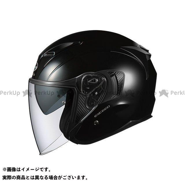 送料無料 OGK KABUTO オージーケーカブト ジェットヘルメット EXCEED(エクシード) ブラックメタリック L