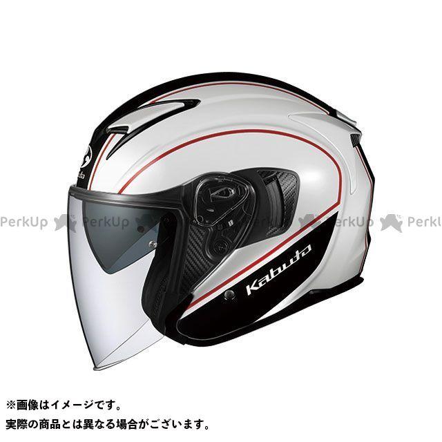 送料無料 OGK KABUTO オージーケーカブト ジェットヘルメット EXCEED DELIE(エクシード・デリエ) ホワイト/ブラック XL