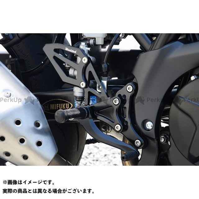 送料無料 ウッドストック SV650 バックステップ関連パーツ バックステップキッ ト ABS仕様(オールブラック)