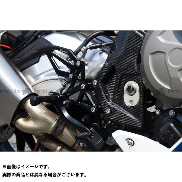 ウッドストック S1000RR バックステップキット(オールブラック) WOODSTOCK