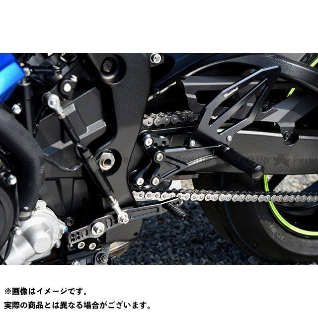 送料無料 ウッドストック GSX-R1000 バックステップ関連パーツ バックステップキット(オールブラック)