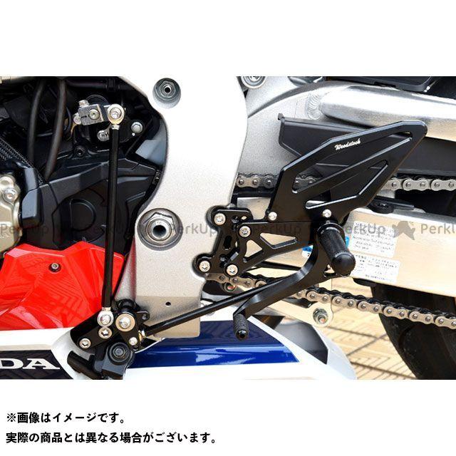 送料無料 ウッドストック CBR1000RRファイヤーブレード バックステップ関連パーツ バックステップキット(オールブラック)