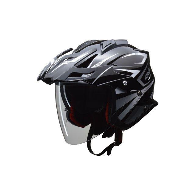 送料無料 リード工業 LEAD工業 ジェットヘルメット ジェットヘルメット(インナーバイザー付き) AIACE(ブラック) 7月上旬発売予定 L/59-60cm