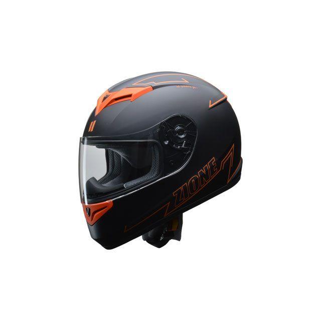 送料無料 リード工業 LEAD工業 フルフェイスヘルメット フルフェイスヘルメット ZIONE(オレンジ) L/59-60cm未満