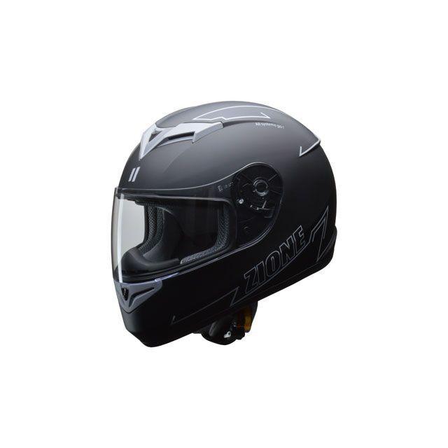 送料無料 リード工業 LEAD工業 フルフェイスヘルメット フルフェイスヘルメット ZIONE(グレー) L/59-60cm未満