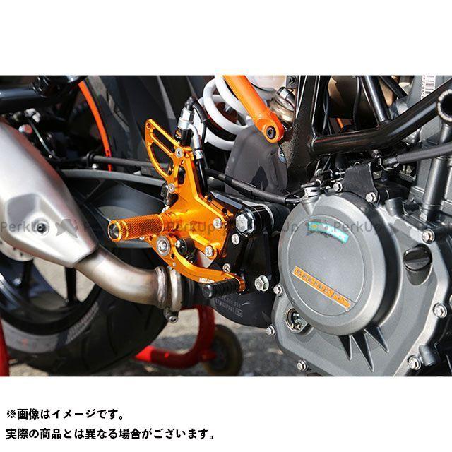 ベビーフェイス 250デューク 390デューク バックステップキット カラー:ブラック BABYFACE