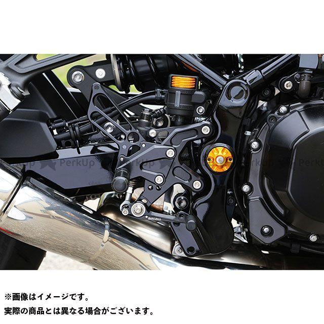 ベビーフェイス Z900RS バックステップキット カラー:ブラック BABYFACE