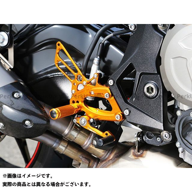 ベビーフェイス S1000R バックステップ関連パーツ バックステップキット ブラック