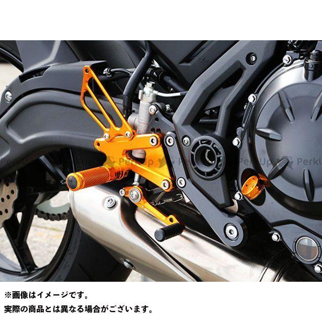 ベビーフェイス ニンジャ650 バックステップ関連パーツ バックステップキット ブラック