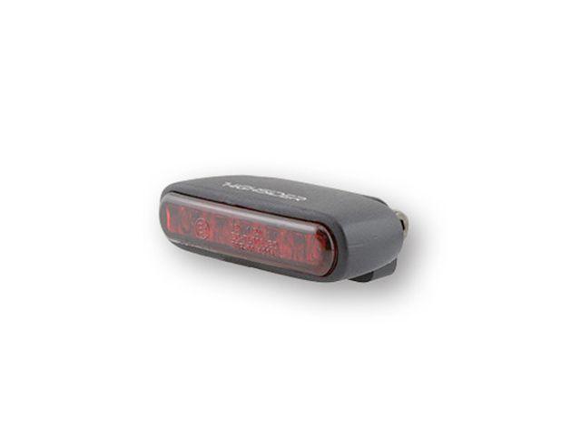 ハイサイダー 汎用 テール関連パーツ LEDテールライト オーガニック(ブラック/レッドレンズ)