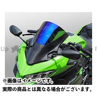 送料無料 マジカルレーシング ニンジャ250 スクリーン関連パーツ バイザースクリーン 平織りカーボン製 スモーク