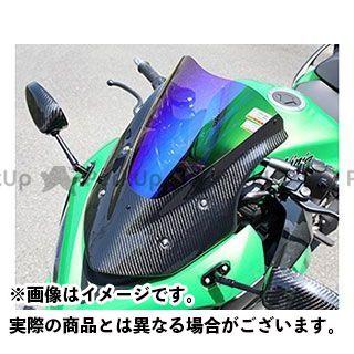 マジカルレーシング ニンジャ1000・Z1000SX バイザースクリーン 平織りカーボン製 スモーク