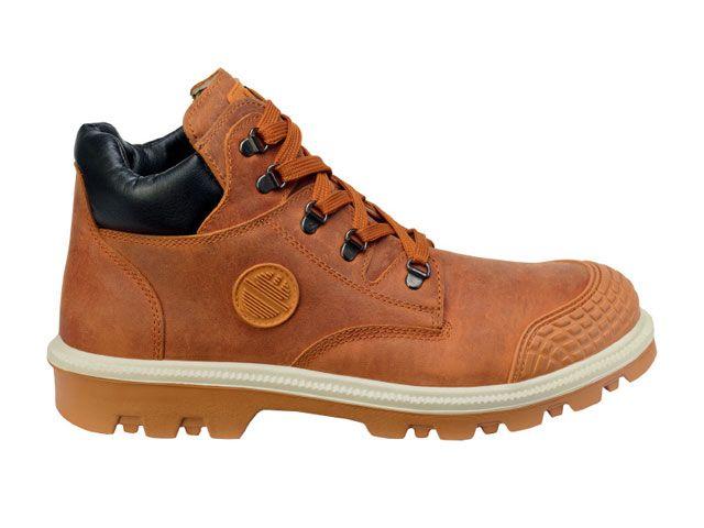 送料無料 DIKE DIKE メカニックシューズ 21021-403 作業靴ディガー(カプチーノブラウン) 26.0cm