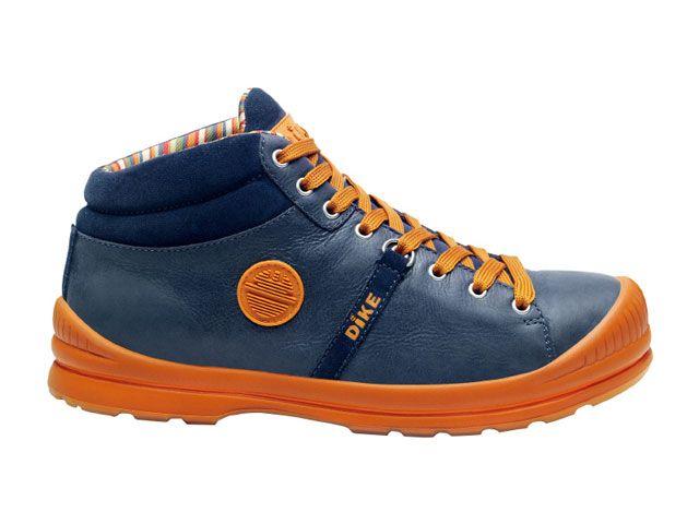 送料無料 DIKE DIKE メカニックシューズ 27021-193 作業靴サミット(アドリアンネイビー) 25.5cm