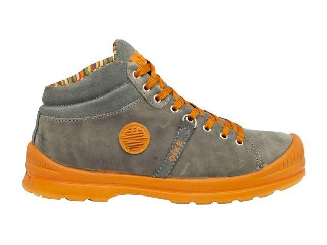 送料無料 DIKE DIKE メカニックシューズ 27021-205 作業靴サミット(アルピニアングレイ) 25.5cm