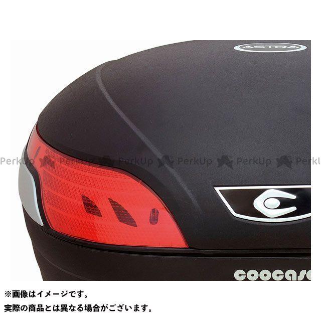 送料無料 COOCASE クーケース ツーリング用ボックス S48 アストラ Spec-F2 無塗装