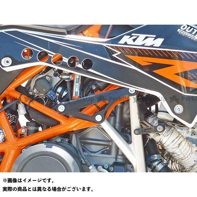 【特価品】アウテックス 690 SMC R ヘッドブレース KTM690SMCR(ブラック) OUTEX
