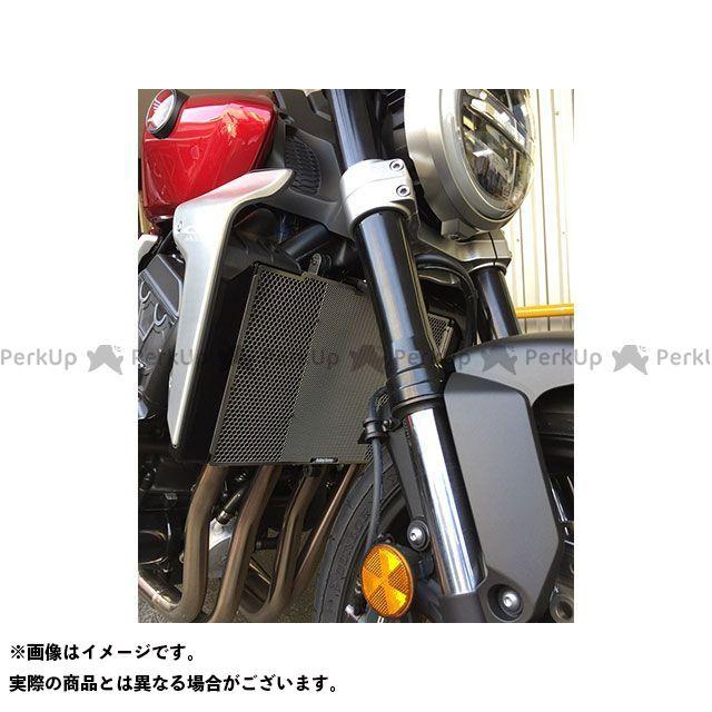 送料無料 エッチングファクトリー CB1000R ラジエター関連パーツ CB1000R(18~)用 ラジエターガード 黒エンブレム