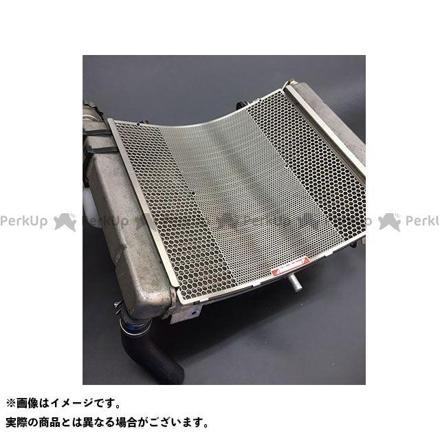 送料無料 エッチングファクトリー NSR250R ラジエター関連パーツ NSR250R(MC21/MC28)用 ラジエターガード 赤エンブレム