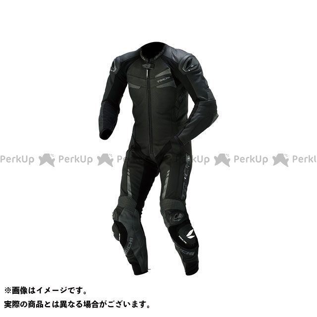 RSタイチ NXL305 GP-WRX R305 LEATHER SUIT(ブラック) M アールエスタイチ