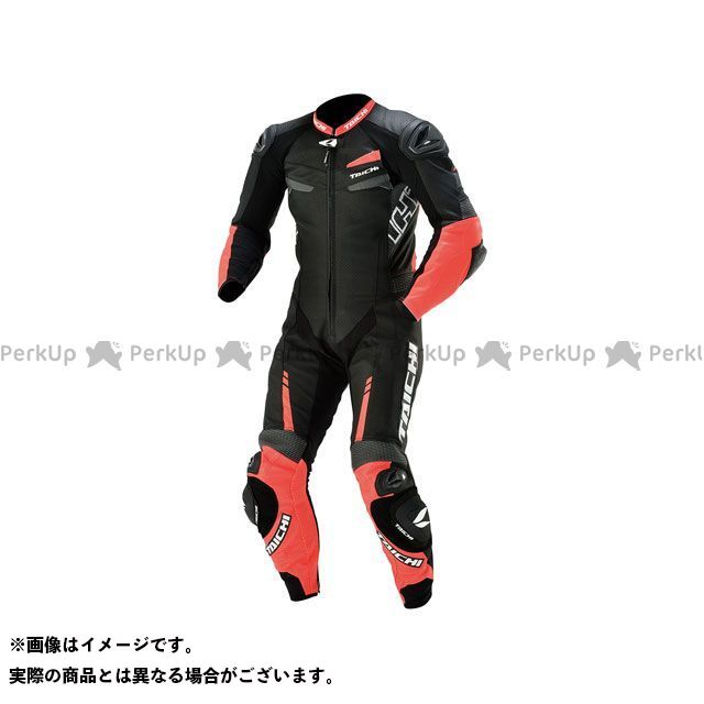 RSタイチ アールエスタイチ レーシングスーツ バイクウェア RSタイチ NXL305 GP-WRX R305 LEATHER SUIT(ネオンレッド/ブラック) M アールエスタイチ