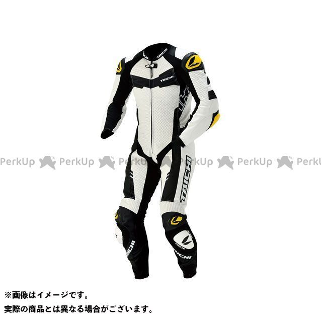 RSタイチ NXL305 GP-WRX R305 LEATHER SUIT(ホワイト) サイズ:S/48 アールエスタイチ