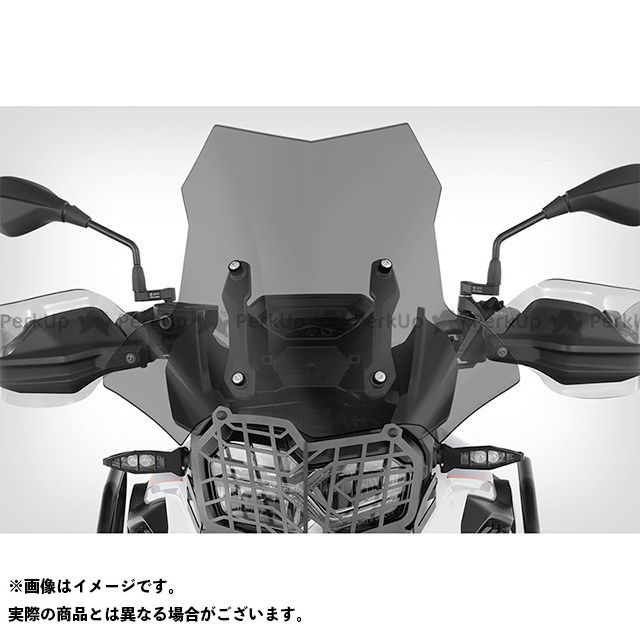 ワンダーリッヒ F750GS F850GS スクリーン関連パーツ ツーリングスクリーン「MARATHON」純正ショートスクリーンステー用(スモーク)