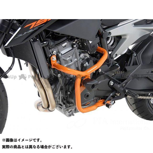 ヘプコアンドベッカー 790デューク エンジンガード(オレンジ) HEPCO&BECKER