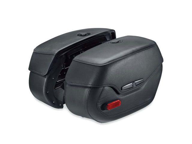 送料無料 ハーレーダビッドソン FLDE ソフテイルデラックス ツーリング用バッグ リジッドマウントサドルバッグ ソフテイルデラックススタイル