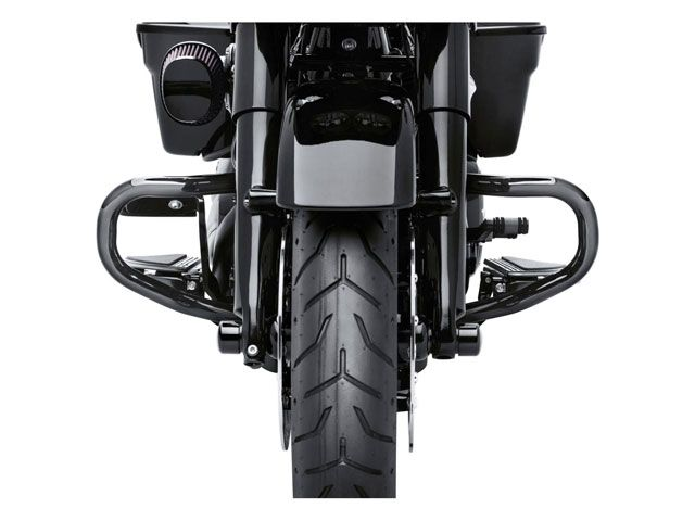 送料無料 ハーレーダビッドソン FLTRX ロードグライド FLTRXS ロードグライドスペシャル エンジンガード チョップ・エンジンガード(ブラック)