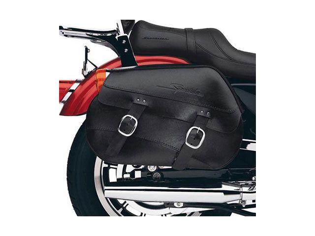 送料無料 ハーレーダビッドソン HARLEY-DAVIDSON ツーリング用バッグ スポーツスター・本革サドルバッグ(左右セット)