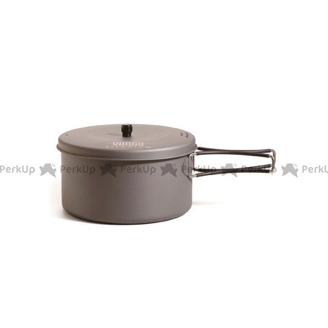 送料無料 バーゴ VARGO 野外調理用品 1.3Lチタニウムポット