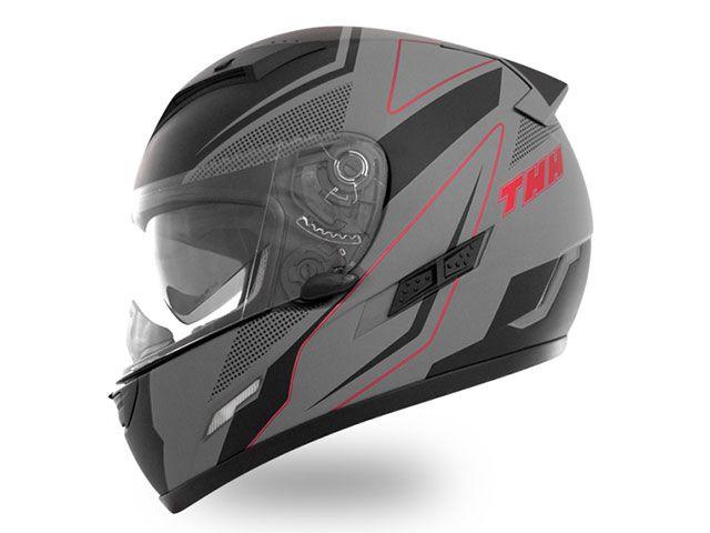 送料無料 THH ティーエイチエイチ フルフェイスヘルメット TS-80 FXX フルフェイスヘルメット(マットグレーブラック) XL