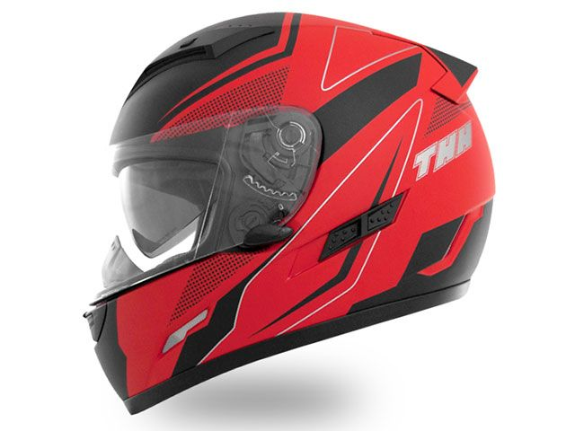 送料無料 THH ティーエイチエイチ フルフェイスヘルメット TS-80 FXX フルフェイスヘルメット(マット レッドブラック) XL