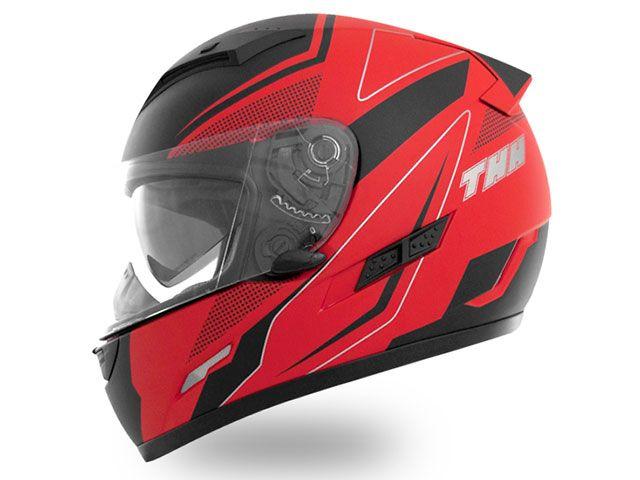 送料無料 THH ティーエイチエイチ フルフェイスヘルメット TS-80 FXX フルフェイスヘルメット(マット レッドブラック) XXL