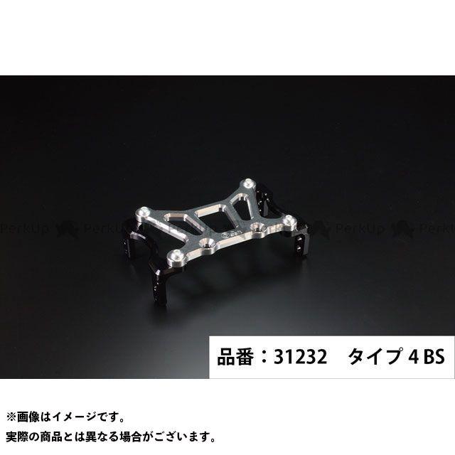 Gクラフト ゴリラ モンキー 173mmピッチステムキット用スタビライザー タイプ4(ブラック/シルバー) メーカー在庫あり ジークラフト