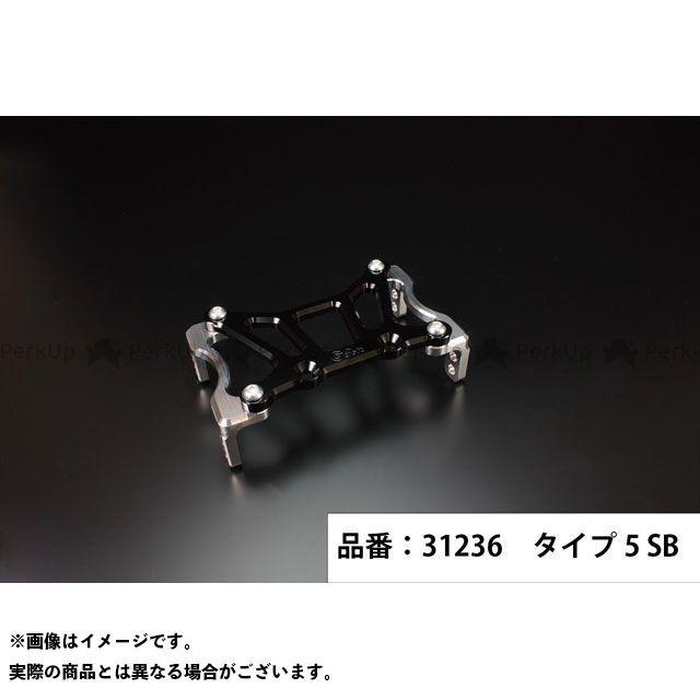 Gクラフト ゴリラ モンキー 199mmピッチステムキット用スタビライザー タイプ5(シルバー/ブラック) メーカー在庫あり ジークラフト