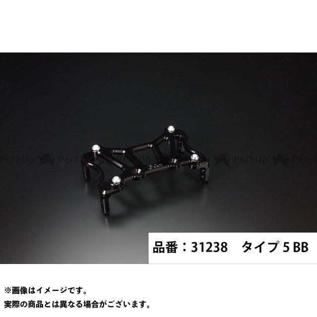 Gクラフト ゴリラ モンキー 199mmピッチステムキット用スタビライザー タイプ5(ブラック/ブラック)  ジークラフト