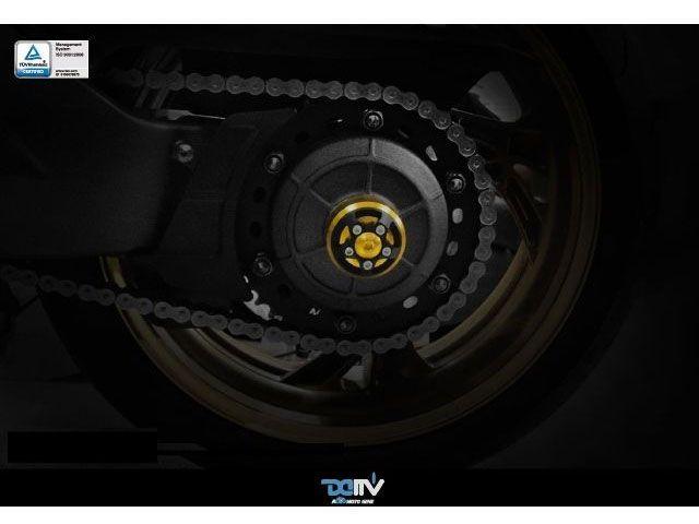 送料無料 ディモーティブ CB1000R スライダー類 3D リヤアクスルスライダー CB1000R ゴールド