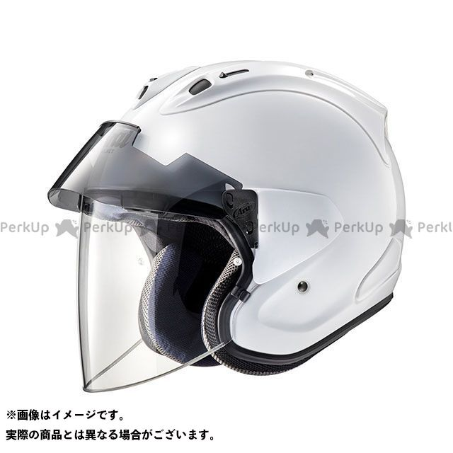 アライ ヘルメット Arai ジェットヘルメット VZ-Ram PLUS(VZ-ラム・プラス) グラスホワイト 54cm