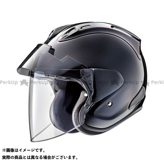 アライ ヘルメット Arai ジェットヘルメット VZ-Ram PLUS(VZ-ラム・プラス) グラスブラック 61-62cm