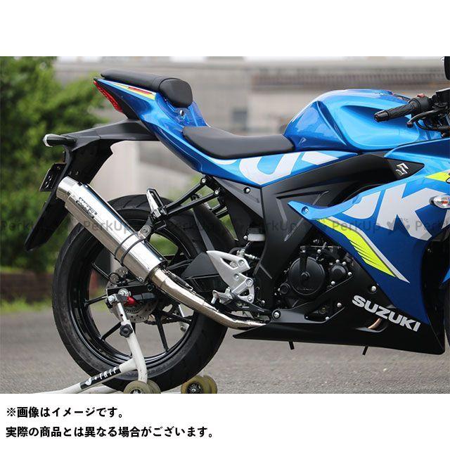 WR'S GSX-R125 GSX-R150 JMCA フルエキゾースト(ラウンドタイプ) 仕様:ステンレス/ステンレス WR'S