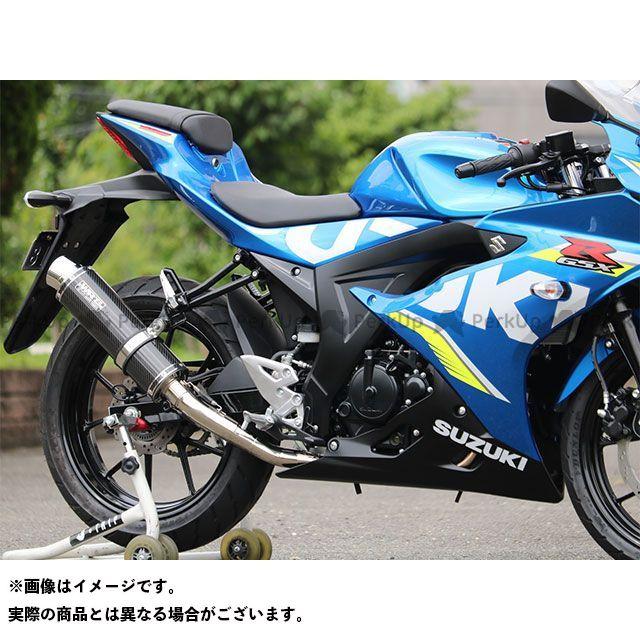 WR'S GSX-R125 GSX-R150 JMCA フルエキゾースト(ラウンドタイプ) 仕様:ステンレス/カーボン WR'S