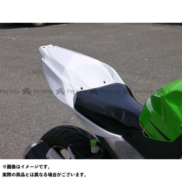才谷屋 ニンジャ250 シングルシート/レース ※シート高10mmアップ仕様 白ゲル 才谷屋ファクトリー