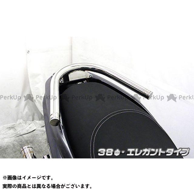 送料無料 ウイルズウィン トリシティ125 タンデム用品 トリシティ125(2BJ-SEC1J)用 38φタンデムバー エレガントタイプ