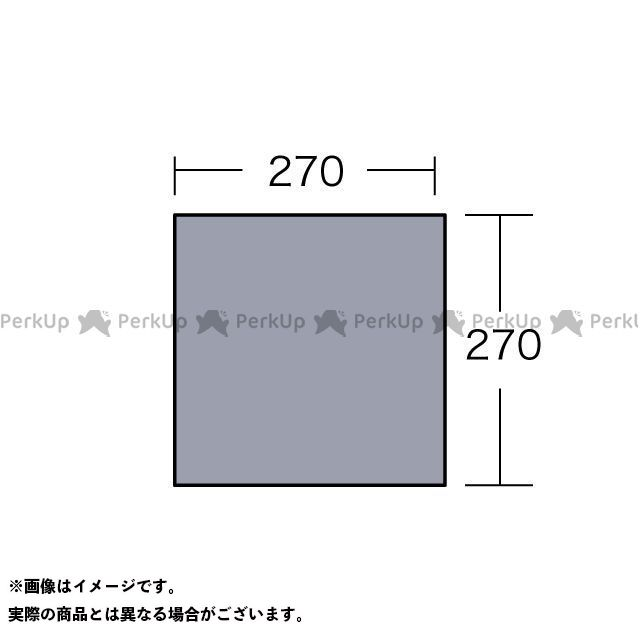 送料無料 キャンパルジャパン ogawa マット&シート PVCマルチシート 280×280用