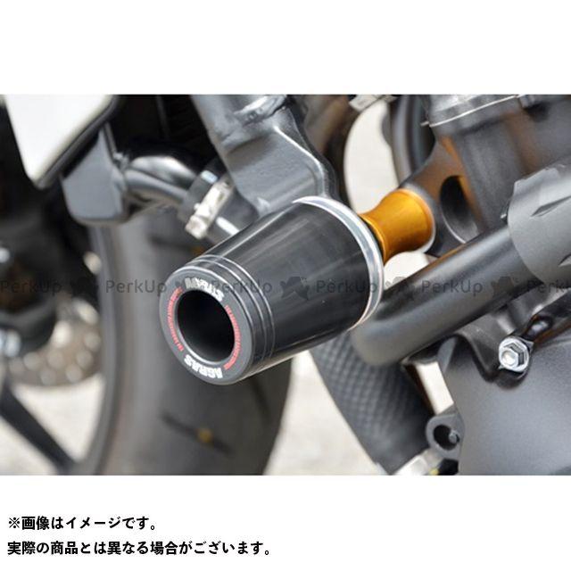 アグラス CB1000R レーシングスライダー フレームタイプ φ50 ジュラコンカラー:ホワイト タイプ:ロゴ有 AGRAS