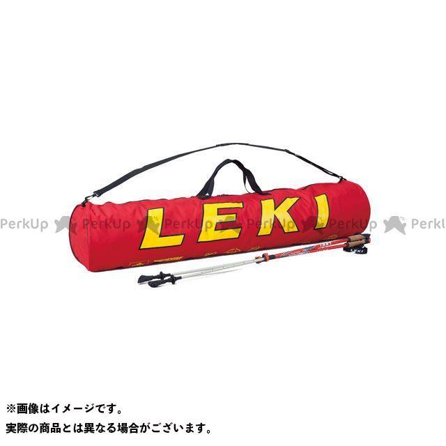 送料無料 レキ LEKI 野外アイテム レキトレーナーポールバッグ140(15ペア) 220レッド